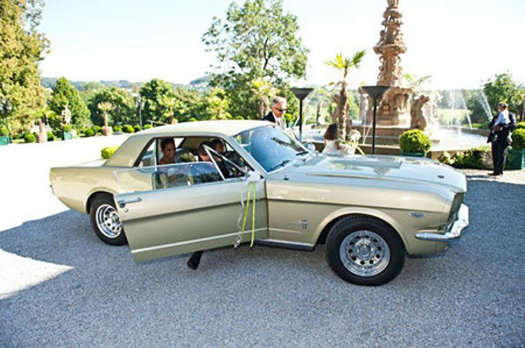 Beispiel: Ford Mustang, Foto: Oldtimervermietung.cc