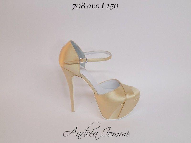 scarpe sposa tacco 15
