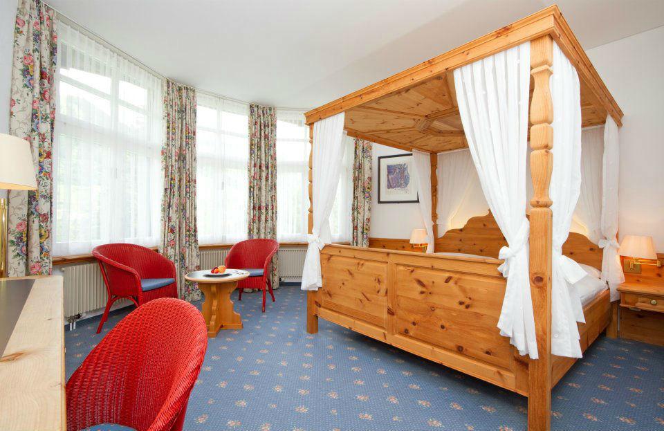 Beispiel: Hotelzimmer, Foto: Hotel Villa Post.