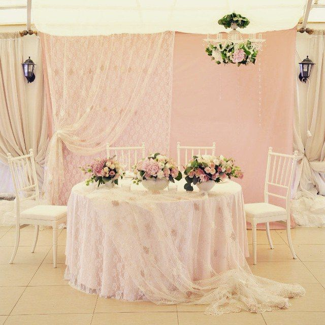 Свадьба Chic&roses wedding