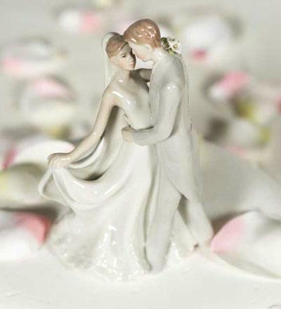 Topo de bolo de Porcelana