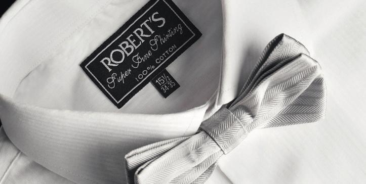 Camisas y complementos para novios en  Robert's Pachuca