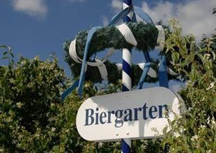 Beispiel: Biergarten, Foto: Café Steintormarsch.