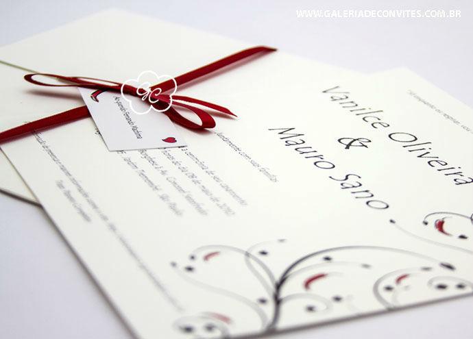 convite de casamento modelo 16 com pimentinhas