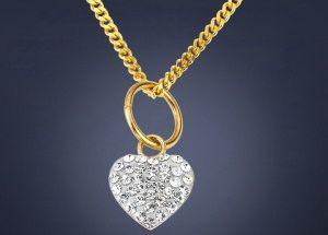 Beispiel: Goldkette mit Anhänger, Foto: faszinata.