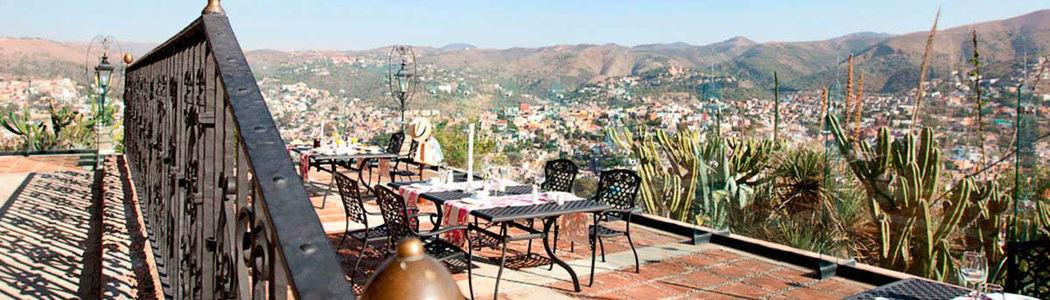 Hotel Misión Casa Colorada - Guanajuato.
