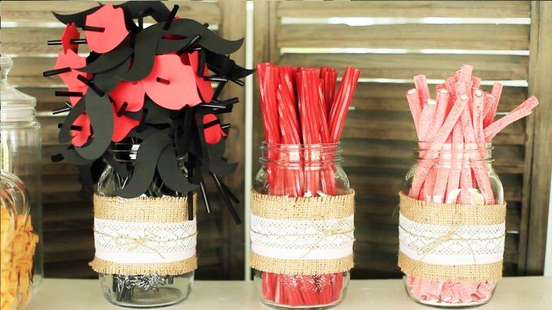 Candy Bar/ decoración de bodas www.lafabricademariana.com
