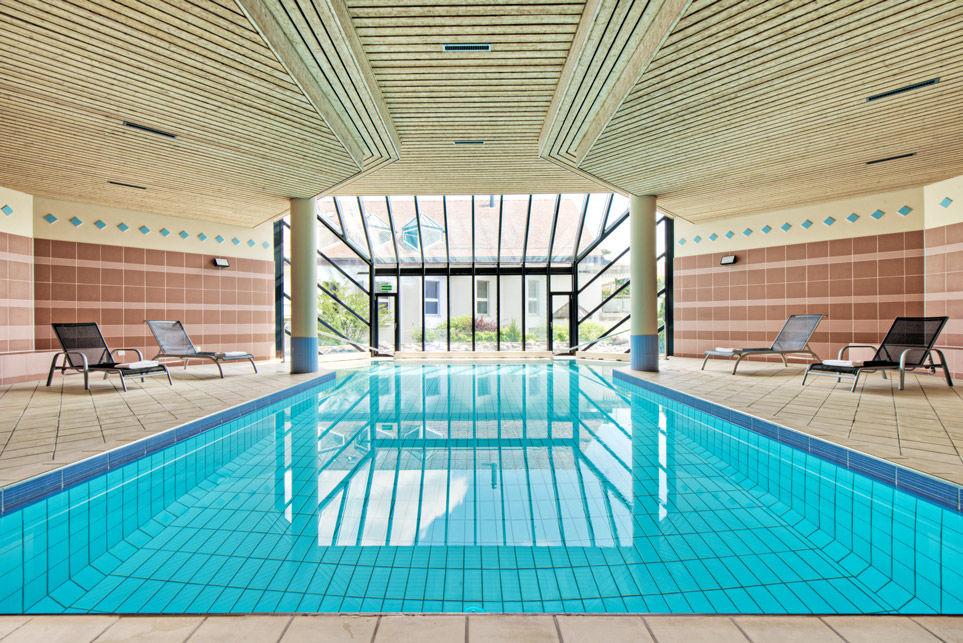 Beispiel: Pool, Foto: Hotel Chlosterhof.