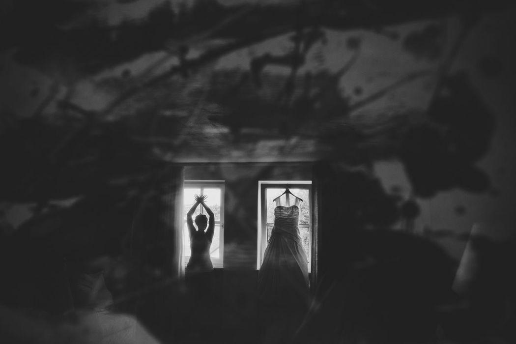 Beispiel: Braut vor der Trauung, Foto: Anna Eiswert.