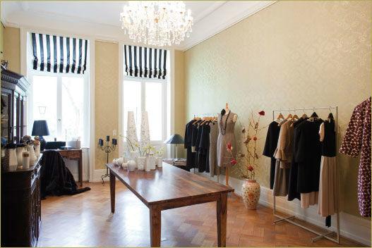 Beispiel: Couturehaus, Foto: Lili Maras.
