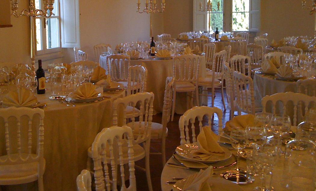 Sala Ricevimento nuziale - La Buona Tavola Catering&Banqueting Firenze