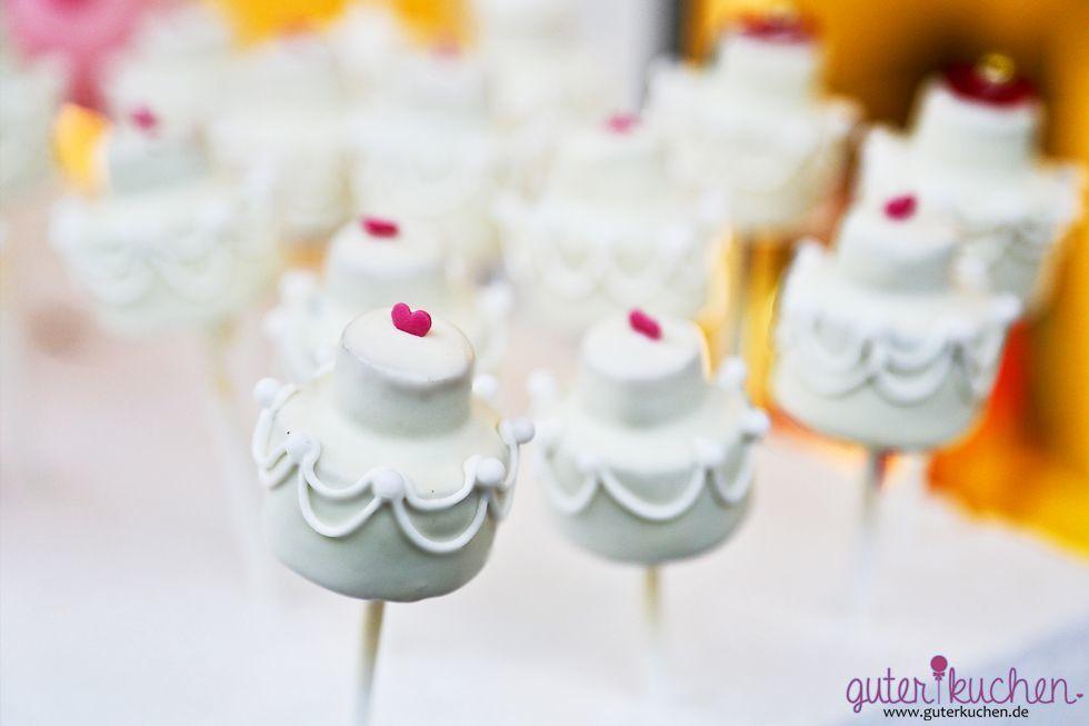 Hochzeitstorten-Cake-Pop