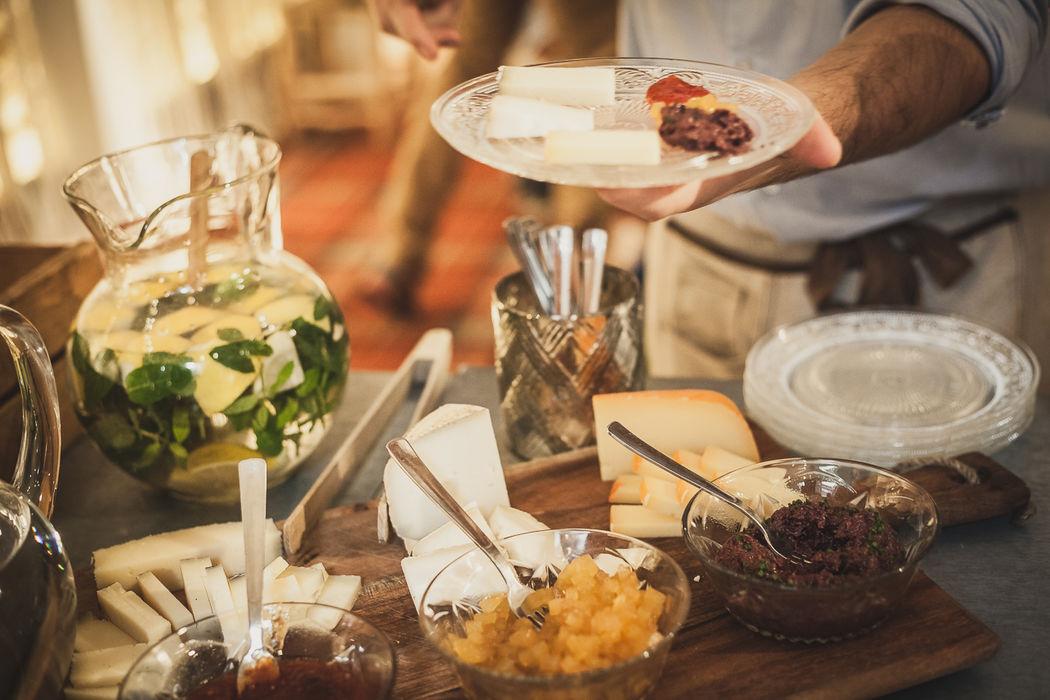 Buffet de quesos para bodas - Catering Bodas 21 de Marzo