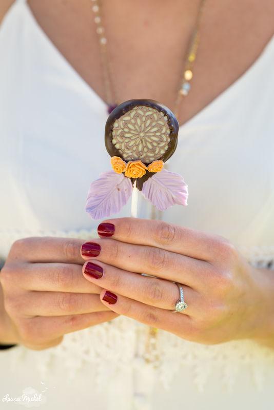 Cakepop attrape-rêves - Mariage Coachella