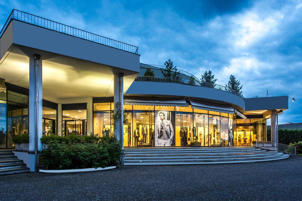 Show room Villa Cortese (Mi) . Atelier di 1000 mq, di cui 500 al servizio dell'uomo!!!