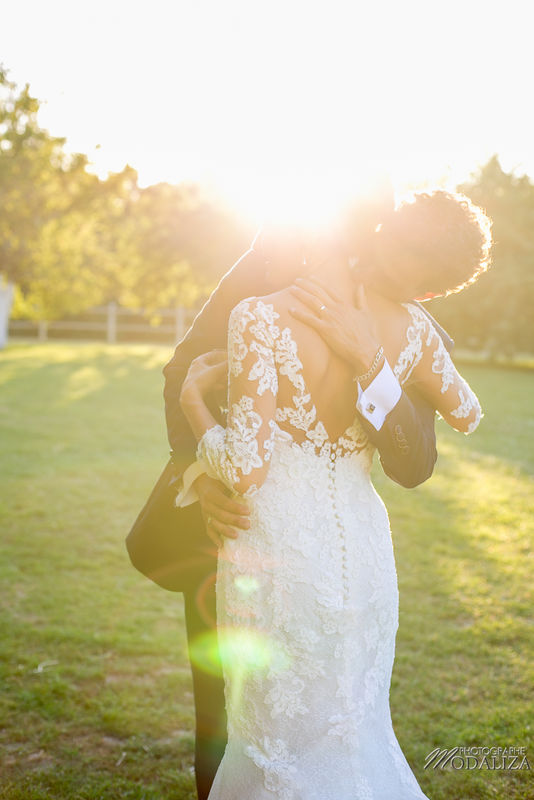 Couple couché de soleil mariage aquitaine - Modaliza Photographe