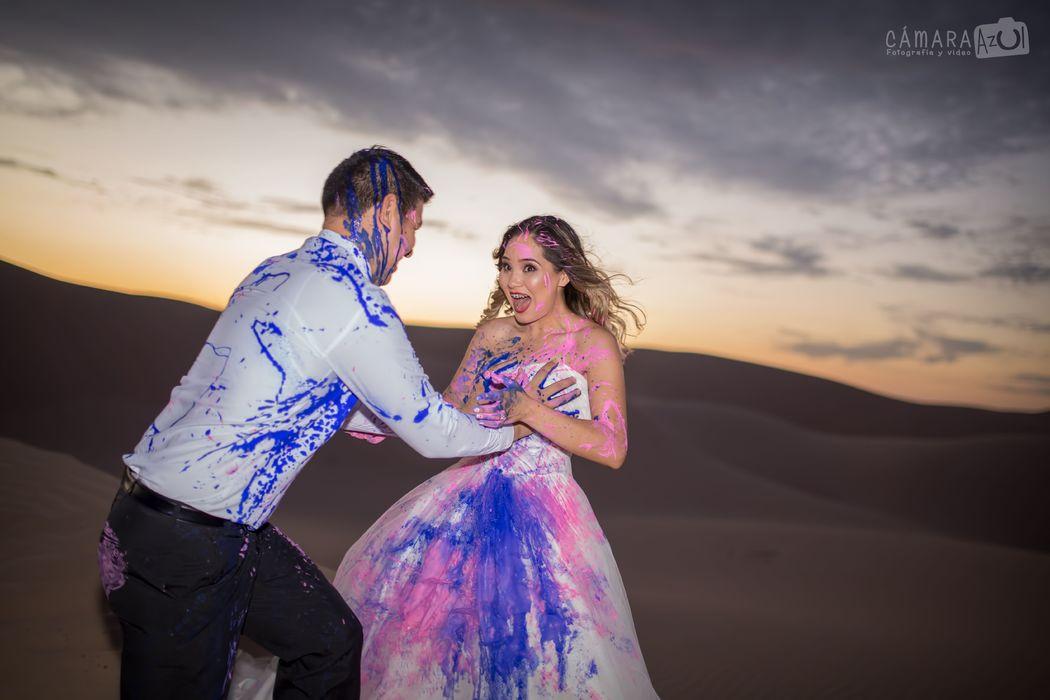 Cámara Azul Fotografía y Video