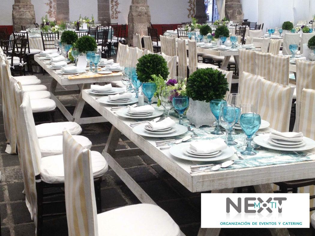 """NextMotiv """"Organización de eventos y catering"""""""