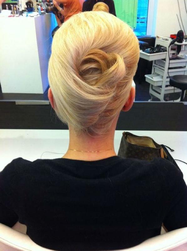 Beispiel: Frisuren für Ihren schönsten Tag, Foto: K-Styling.