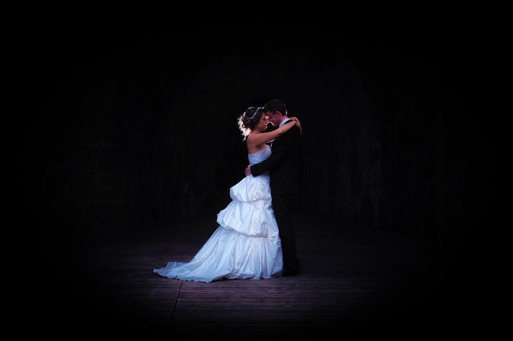 Beispiel: Romantische Hochzeitsfotos, Foto: Axel Link Photography.