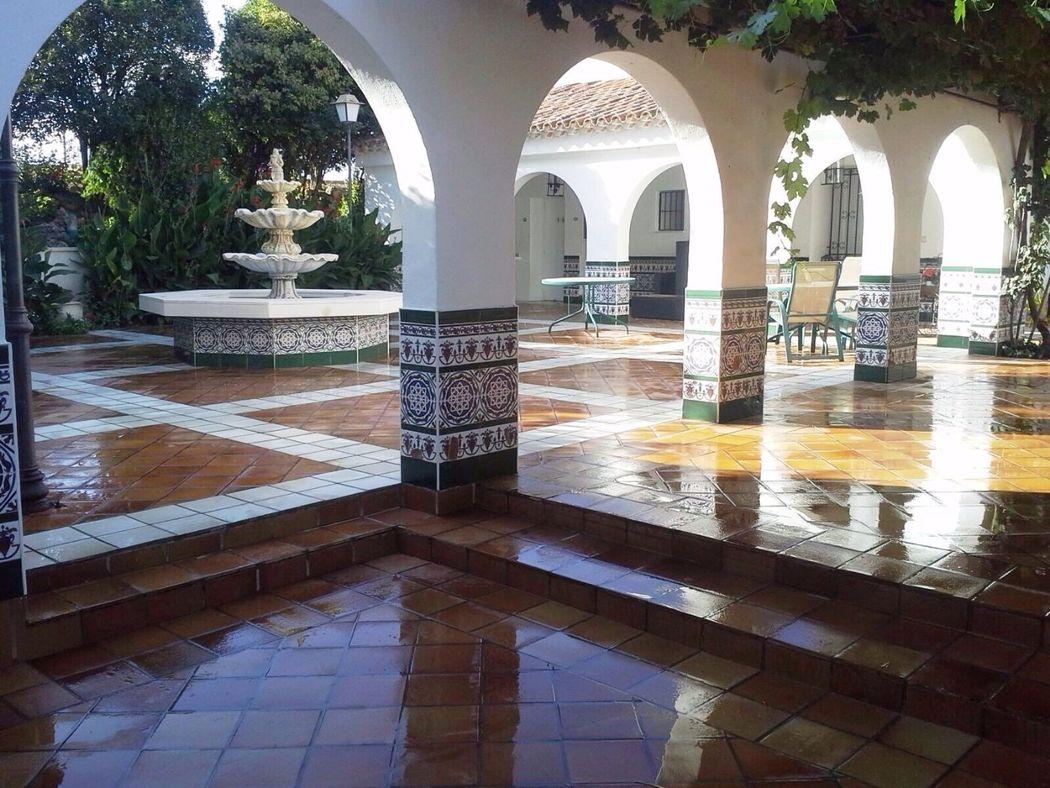 Fuente patio andaluz