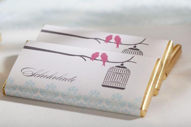 Beispiel: Lovebirds, Foto: Sweet Candy Table.