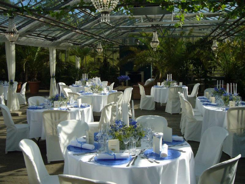 Beispiel: Hochzeitsgedeck, Foto: Die Alte Gärtnerei.