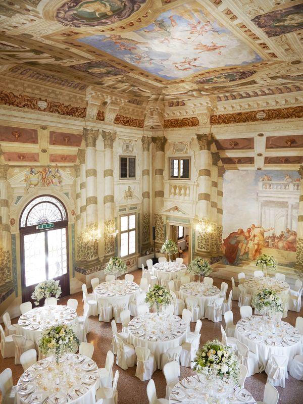 Wedding romantico in Villa Foscarini Rossi