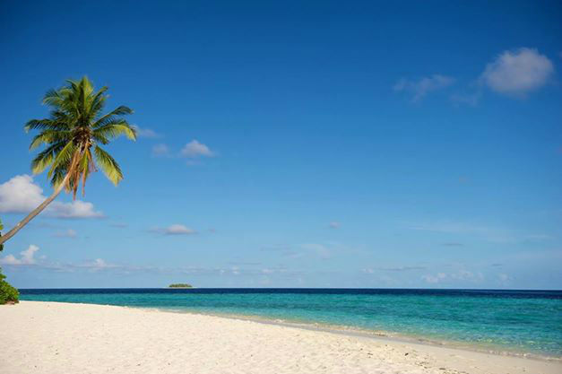 Beispiel: Stand der Malediven, Foto: Robinson Club.