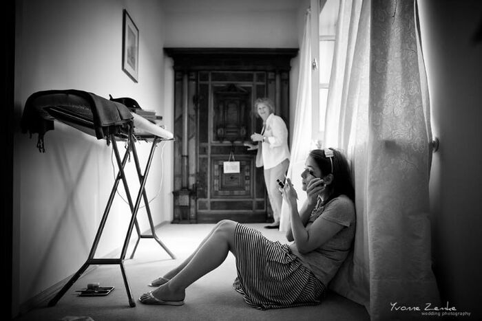 Beispiel: Fotos von den Vorbereitungen, Foto: Yvonne Zemke wedding photography.