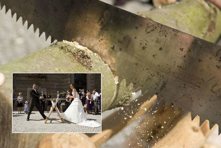 Beispiel: Ausdrucksstarke Dokumentiation Ihres Hochzeitstages, Foto: Hochzeitsfotografie Berlin.