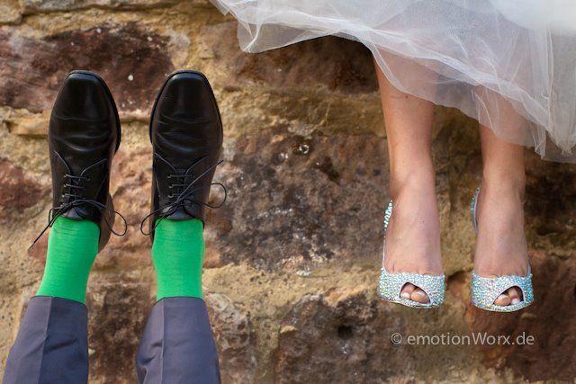 Beispiel: Brautschuhe, Foto: Emotion Worx.
