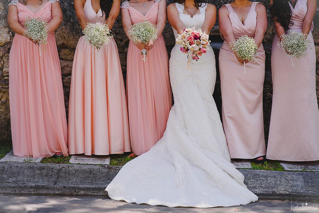 Bridesmaids Bouquets Santiago Nuevo León