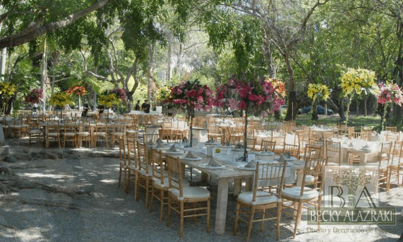 Diseño y decoración de eventos en México, Becky Alazraki y Alejandro Alazraki