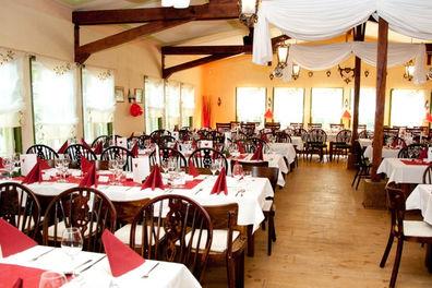 Beispiel: Hochzeitsgedeck, Foto: Jagdhaus Spandau.