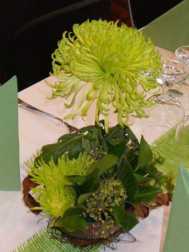 Beispiel: Ausgefallene Tischdekoration, Foto: die kornblume.