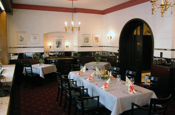 Beispiel: Räumlichkeiten, Foto: Spezialitäten Restaurant Yachtzimmer.