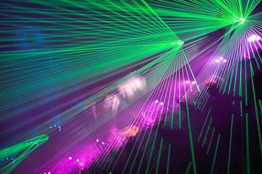 Beispiel: Lasershow, Foto: SZ-Veranstaltungsservice.