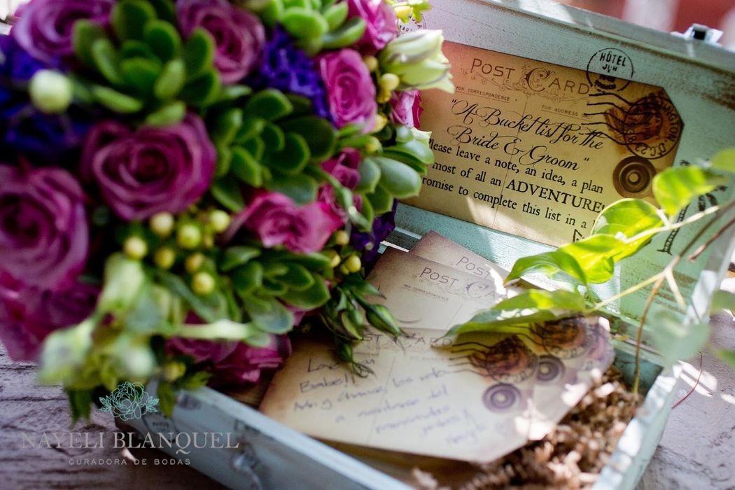 Detalle a detalle. Nayeli Blanquel, curadora de bodas en Ciudad de México