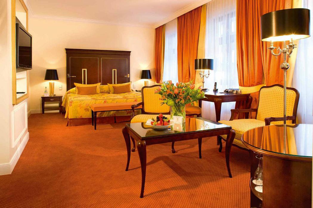Beispiel: Doppelzimmer, Foto: Bülow Palais.
