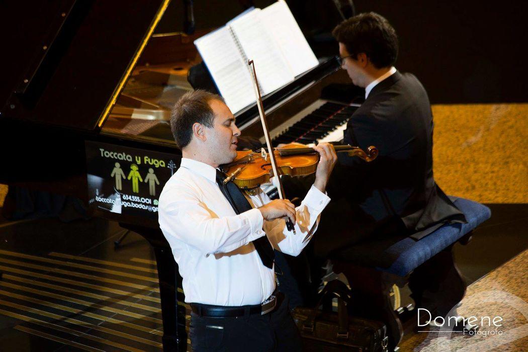 Piano y violín