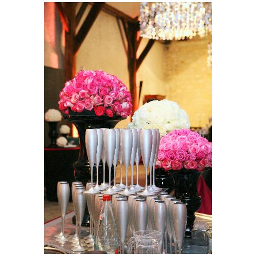 Décoration florale salle de réception - Magie de l'Ephémère