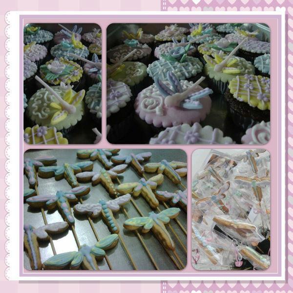 Cup Cakes & Galletas - Dragonfly