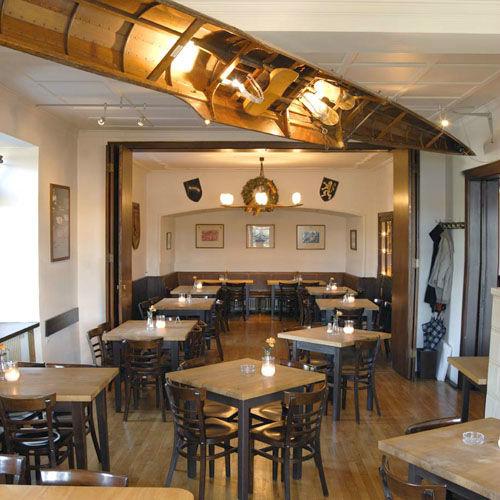 Beispiel: Restaurant - Innenraum, Foto: Das Bootshaus.