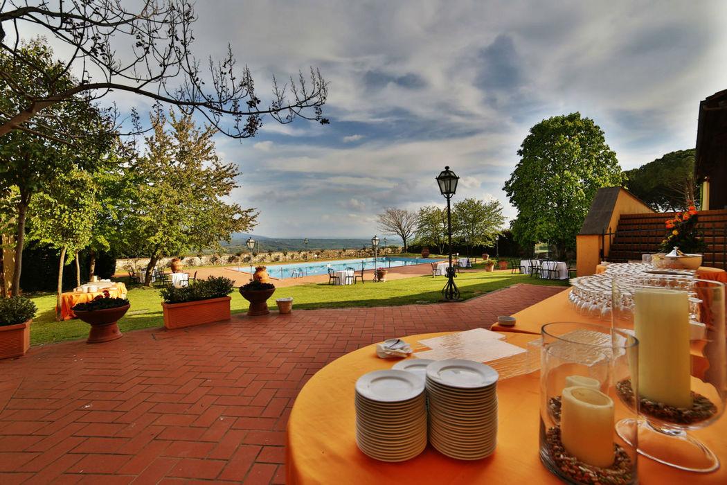 FATTORIA PAGNANA - Piscina Villa - Aperitivo buffet