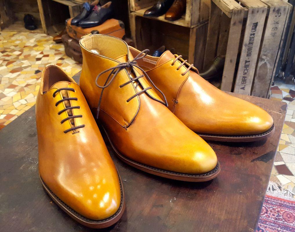 Richelieu, chukka, derby Shoe Up dans notre showroom