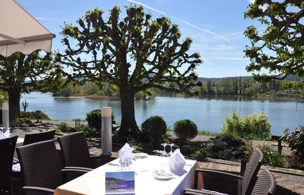 Beispiel: Ausblick von der Terrasse, Foto: Hotel Chlosterhof.
