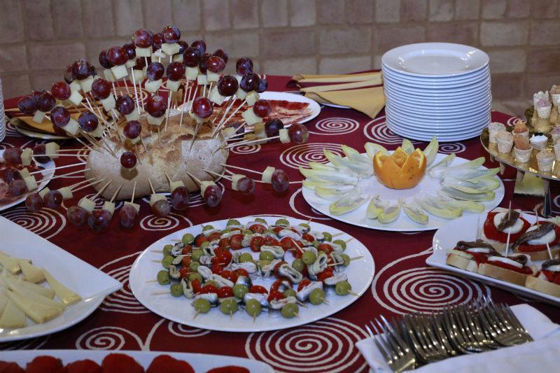 Platos de Catering Santa Ana