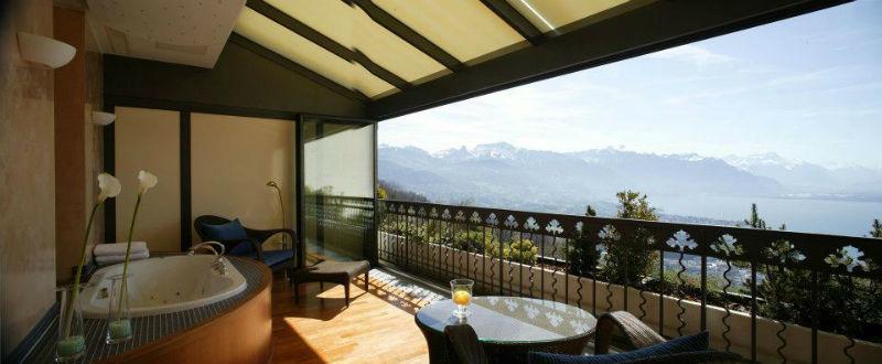 Beispiel: Suite Lake Geneva, Foto: Kempinski Hotels.