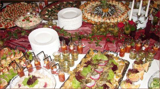 Beispiel: Buffet, Foto: Roland Link catering-service.
